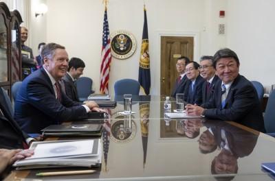 美日貿易協商首日 美再提出雙邊FTA