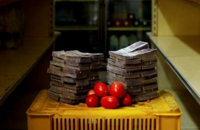 委內瑞拉通膨有多可怕 這些照片告訴你!