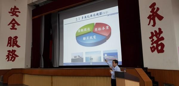 潛艦國造明年簽約  鄭文隆:上看5、6百億、台船將脫胎換骨