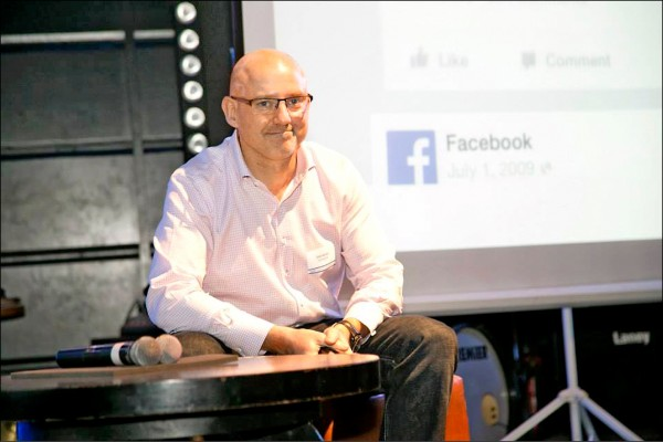 臉書副總裁來台 討論9大合作案