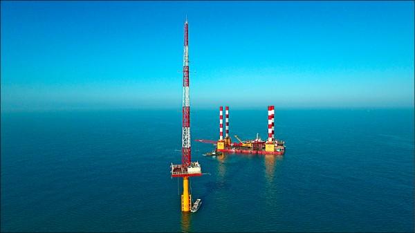 台電二期離岸風場 開發預算最高628億