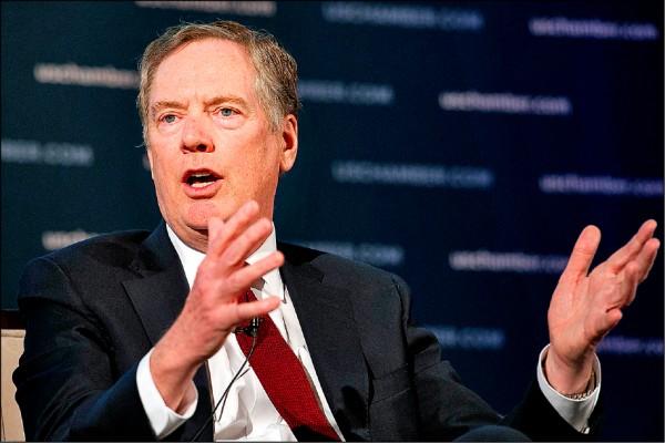 美貿易代表︰3月1日 美中未達協議就增關稅