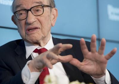葛林斯潘:華爾街的派對已結束 呼籲投資人快逃