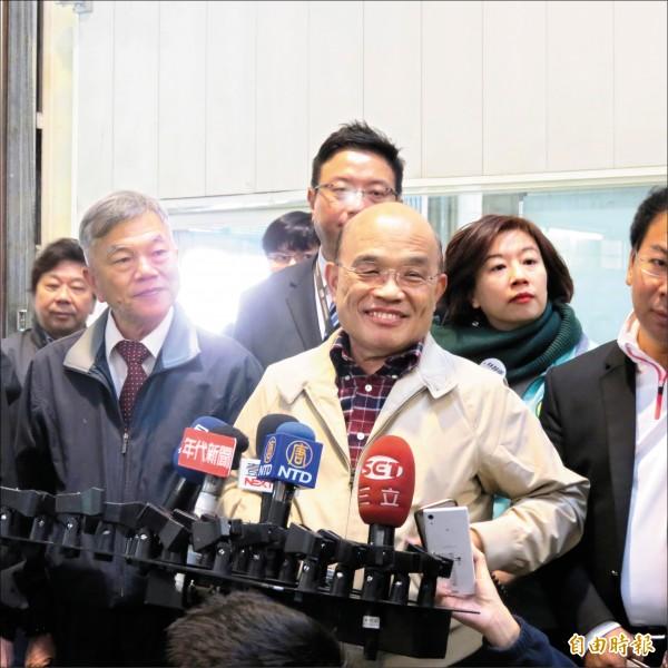「政府負最終責任」蘇揆:政院每年撥補200億給勞保基金