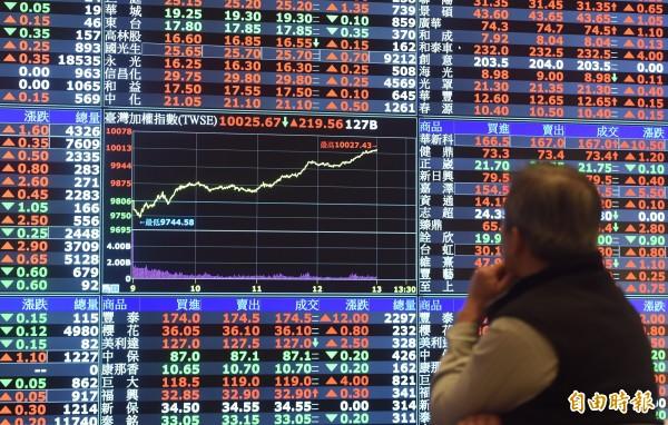亞洲新興股市前景轉好 彭博:台股列名最受青睞之一