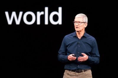 iPhone在中國銷售下滑  蘋果CEO庫克:人民幣貶值