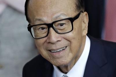 李嘉誠連21年蟬聯香港首富 但身價縮水逾千億