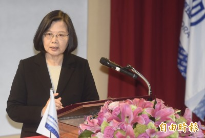 蔡英文:國艦國造帶動8000個高品質就業機會