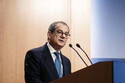 義大利財長:義大利經濟基礎堅強 信心是最大問題
