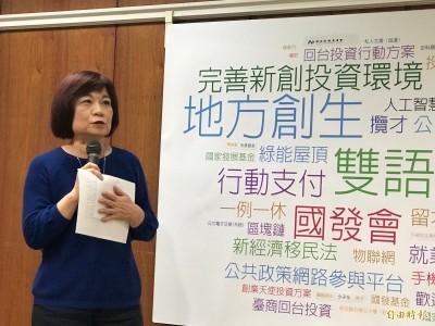 藍營15縣市長挺自經區草案  陳美伶:台灣已是「自由貿易島」