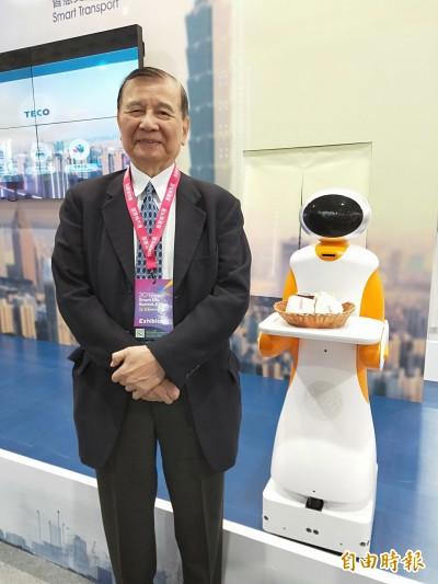 東元工業機器人變身送餐機器人  拚今年產50台、外銷日澳