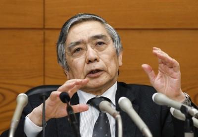 日央行總裁:日本經濟持續溫和擴張