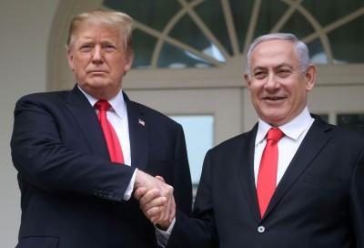 川普對以色列撂狠話 控制與中國的商業關係