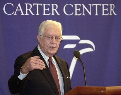 美前總統卡特:中國「正在超越美國」 令川普感到不安