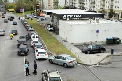 油罐車司機大罷工 葡萄牙宣佈進入「能源緊急狀態」