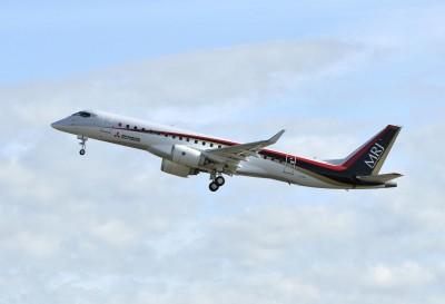 挑戰波音、空巴 日本首架自製噴射客機2020有望交機