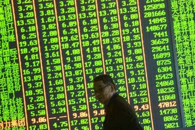 貿易大戰》中股劇烈震盪 中國基金本週統統躺平