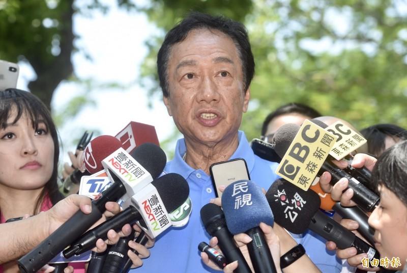 郭台銘開選舉支票 當選後加入FTA比例大增2~3倍
