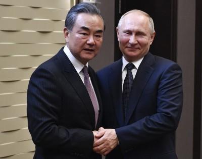 普廷會晤中國外長 讚一帶一路「富有成效」