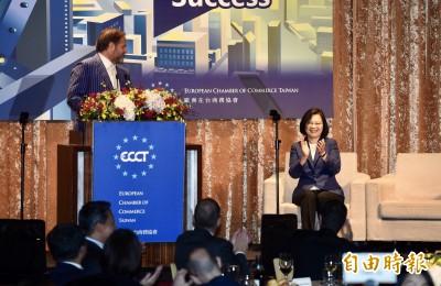 力挺「辣台妹」小英綠能政策  歐商會:台灣將成最大贏家