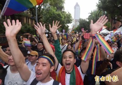 台灣同婚合法化!今年結婚明年就可一起報稅