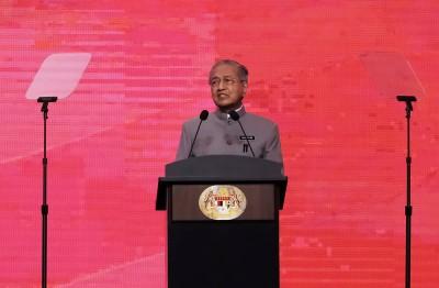 馬哈迪重申支持一帶一路 稱中國繁榮可助大馬昌盛