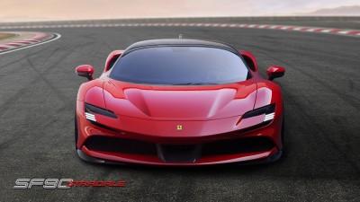 未來超跑?Ferrari法拉利首款油電車SF90 Stradale曝光
