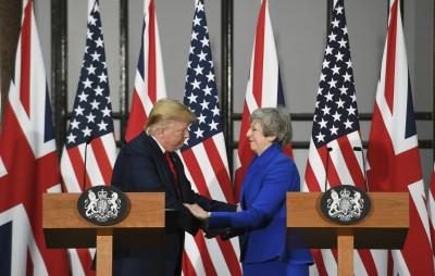 川普稱英脫歐可和美簽「大協議」 CNN:沒那麼容易!