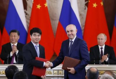 習訪俄期間 華為與俄國電信商簽署5G協議
