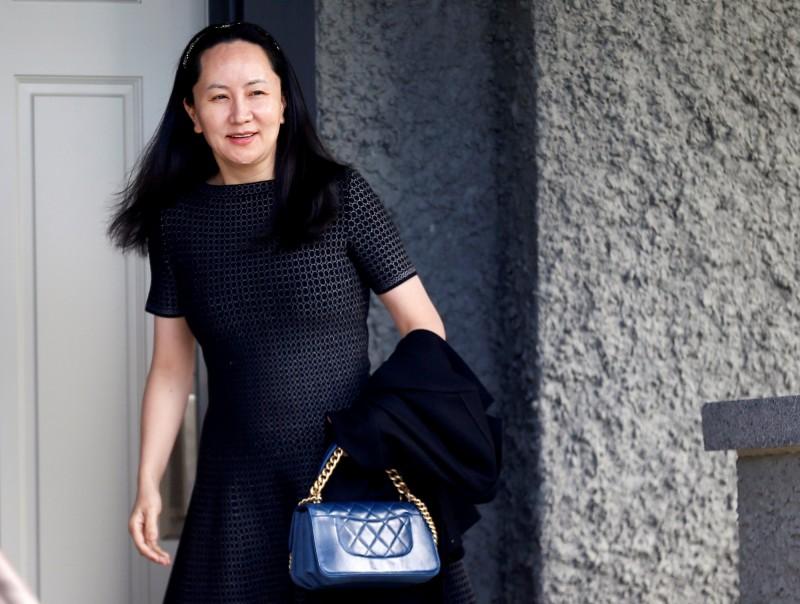 華為公主引渡聆訊時間確定 2020年1月舉行
