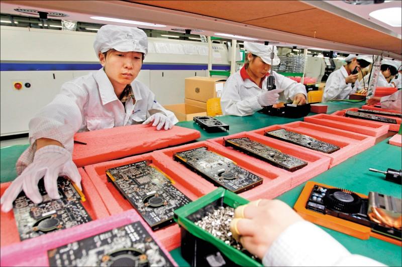 中國以外產能占25% 鴻海有信心應付轉單