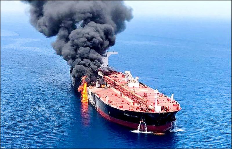 波灣頻傳不明攻擊 油價驚驚漲