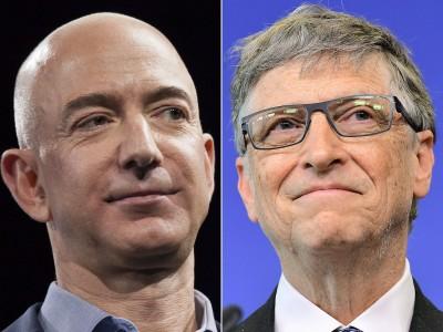 並肩比爾蓋茲、貝佐斯 「他」身價逾1000億美元