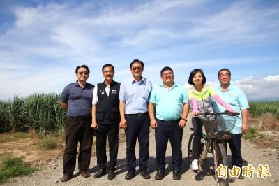 經濟部勘查水上、中埔台糖土地  拚3年開發工業區
