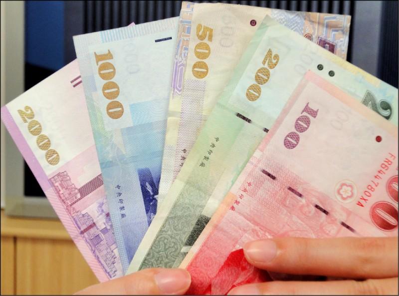 資金行情燒 台幣強升1.75角