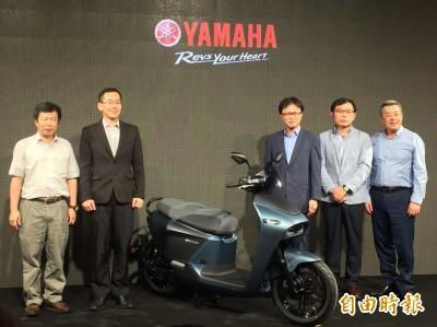 Yamaha與Gogoro聯手開發的首輛電動機車8月上市 定價9.98萬元