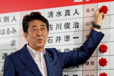 日本執政聯盟贏得參院選舉 消費稅10月如期上路