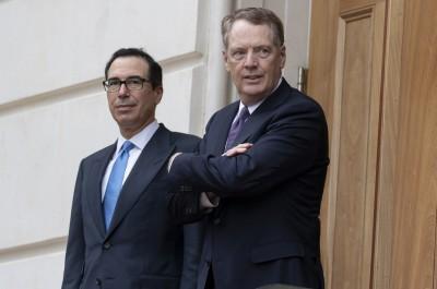 美中傳最快下週重啟談判  美財長、貿易代表將赴北京