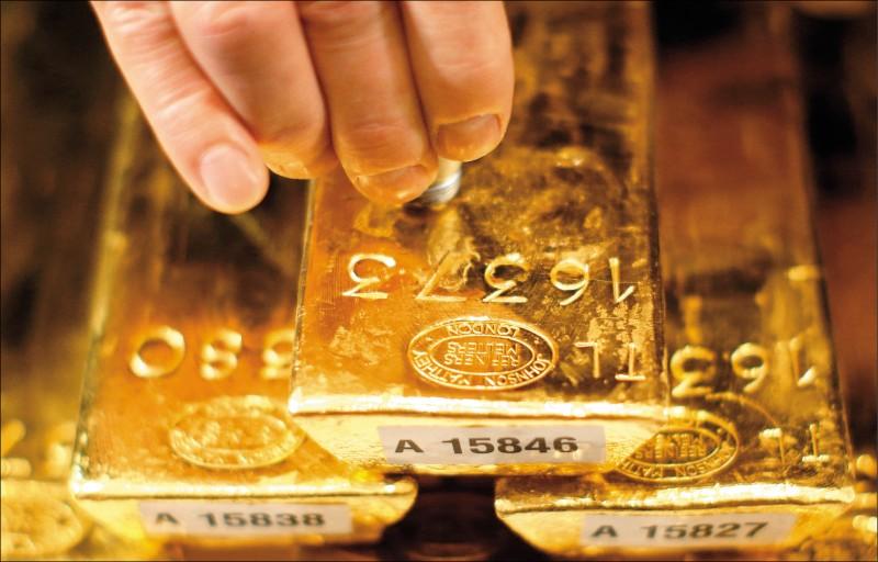 國人憂金價高檔反轉 贖回黃金基金90億