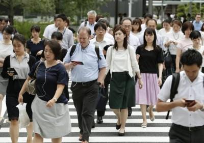 日本婦女就業人數破3000萬人,1953年以來最高