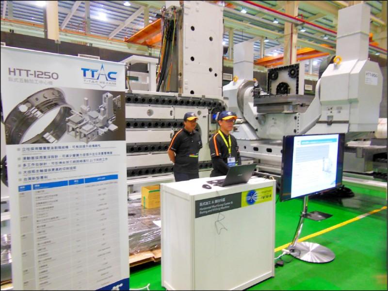 貿易戰台商回流 工具機業:內銷接單增2成