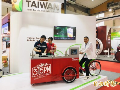 超可愛MIT珍奶車前進越南  30萬加盟1個月可回本
