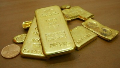 國際局勢動盪 黃金獲避險上漲8.7美元