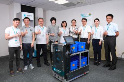 《科技與創新》物流業最佳援手!工研院iAGV機器人讓進存揀出超省力