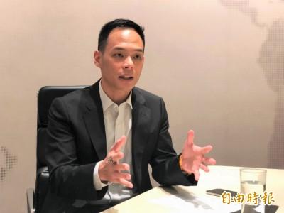 CEO開講》林之晨 :傳統銀行束縛多 網銀空間大