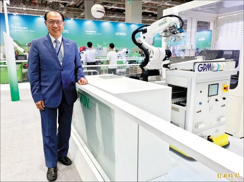 上銀卓永財憂中國崛起 台廠工具機僅剩2年優勢