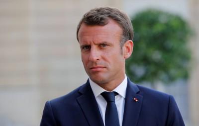 法國總統馬克宏:無協議脫歐責任全在英國