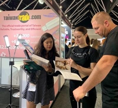 搶澳洲兩千億美妝商機! 台灣經貿網首度前進雪梨美容展