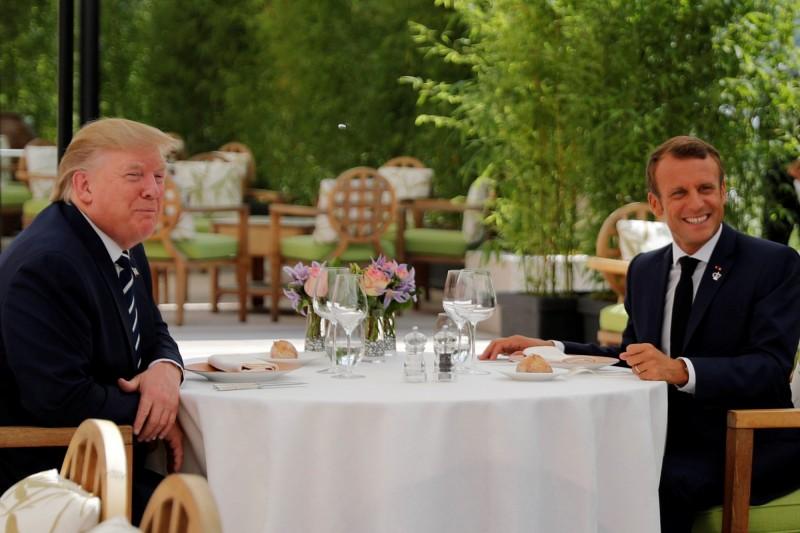 G7峰會法國開幕 貿易戰陰影籠罩
