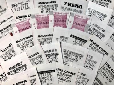 雲端發票獎項再加碼 每期總獎金高達2.45億